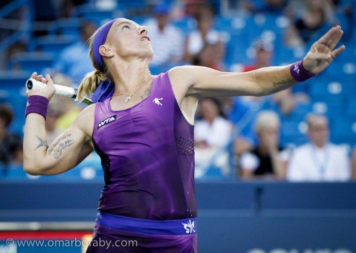 2014_08_13  W&S Tennis Wednesday Svetlana Kuznetsova