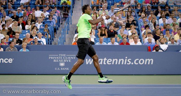 2014_08_14  W&S Tennis Thursday Gael Monfils-2