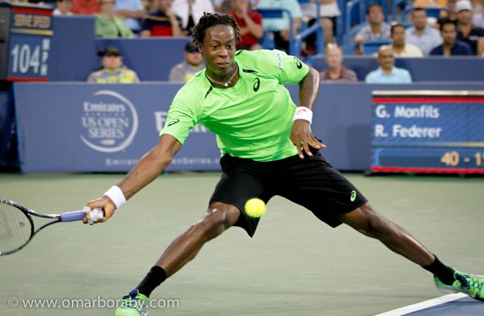 2014_08_14  W&S Tennis Thursday Gael Monfils