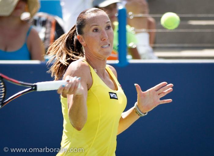 2014_08_14  W&S Tennis Thursday Jelena Jankovic