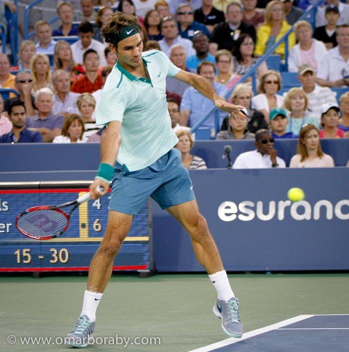 2014_08_14  W&S Tennis Thursday Roger Federer-5