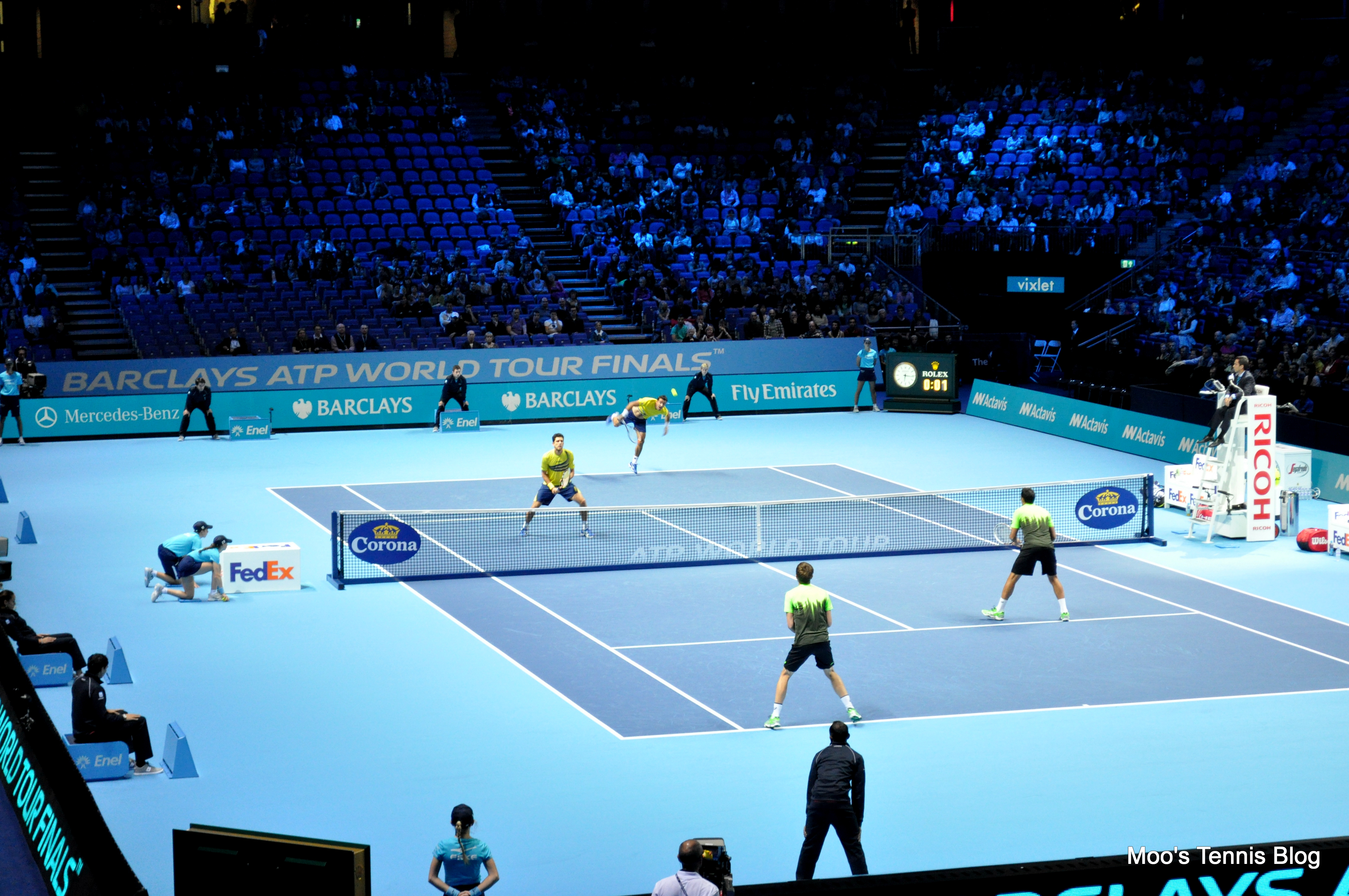 Atp World Tour Finals Day 1 Doubles Federer V Raonic And Plenty Of