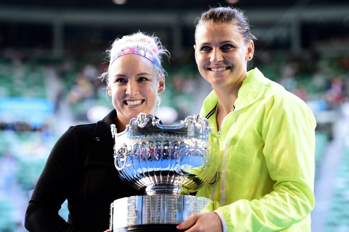 Bethanie Mattek-Sands and Lucie Safarova