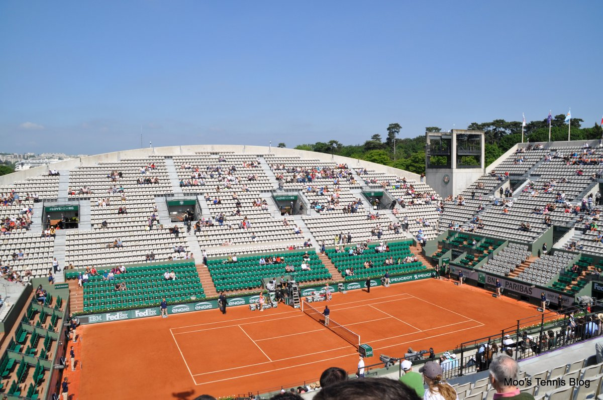 roland garros 2015 a day on suzanne lenglen court moo 39 s. Black Bedroom Furniture Sets. Home Design Ideas