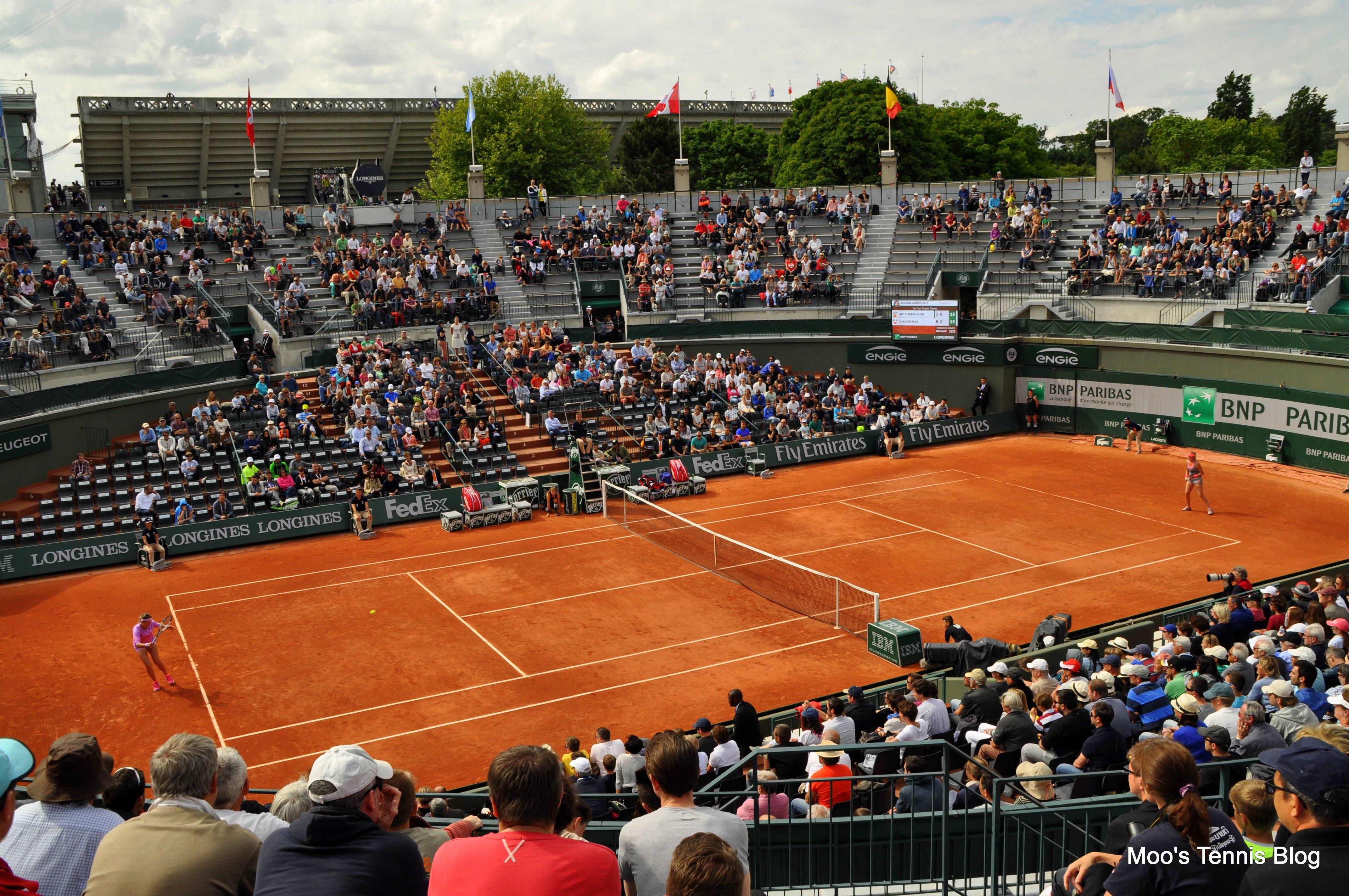 Roland Garros 2015: A day on Court 1   Moo's Tennis Blog