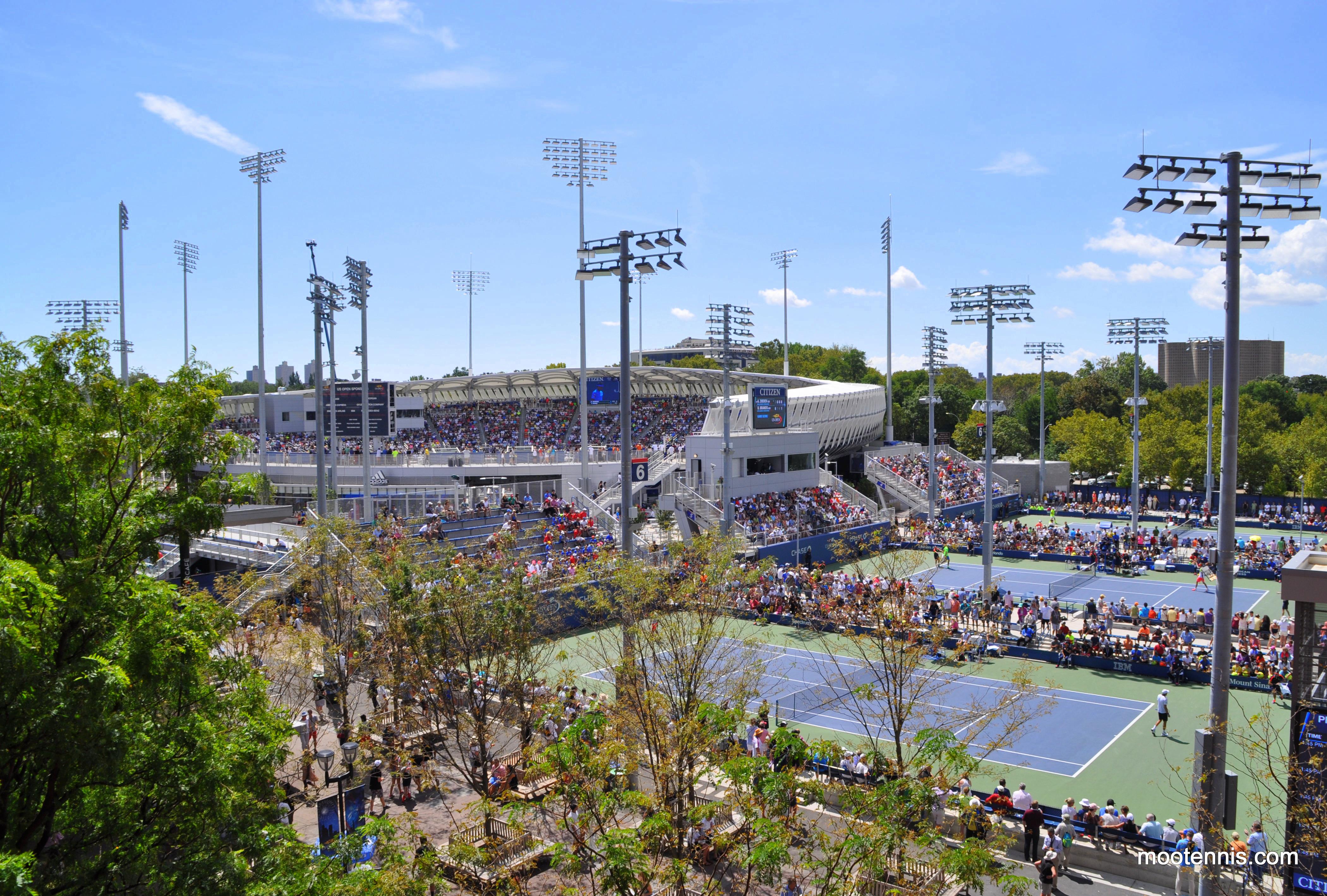 Grounds Map Arthur Ashe Kids Day Billie Jean King National Tennis - Us open grounds map 2016