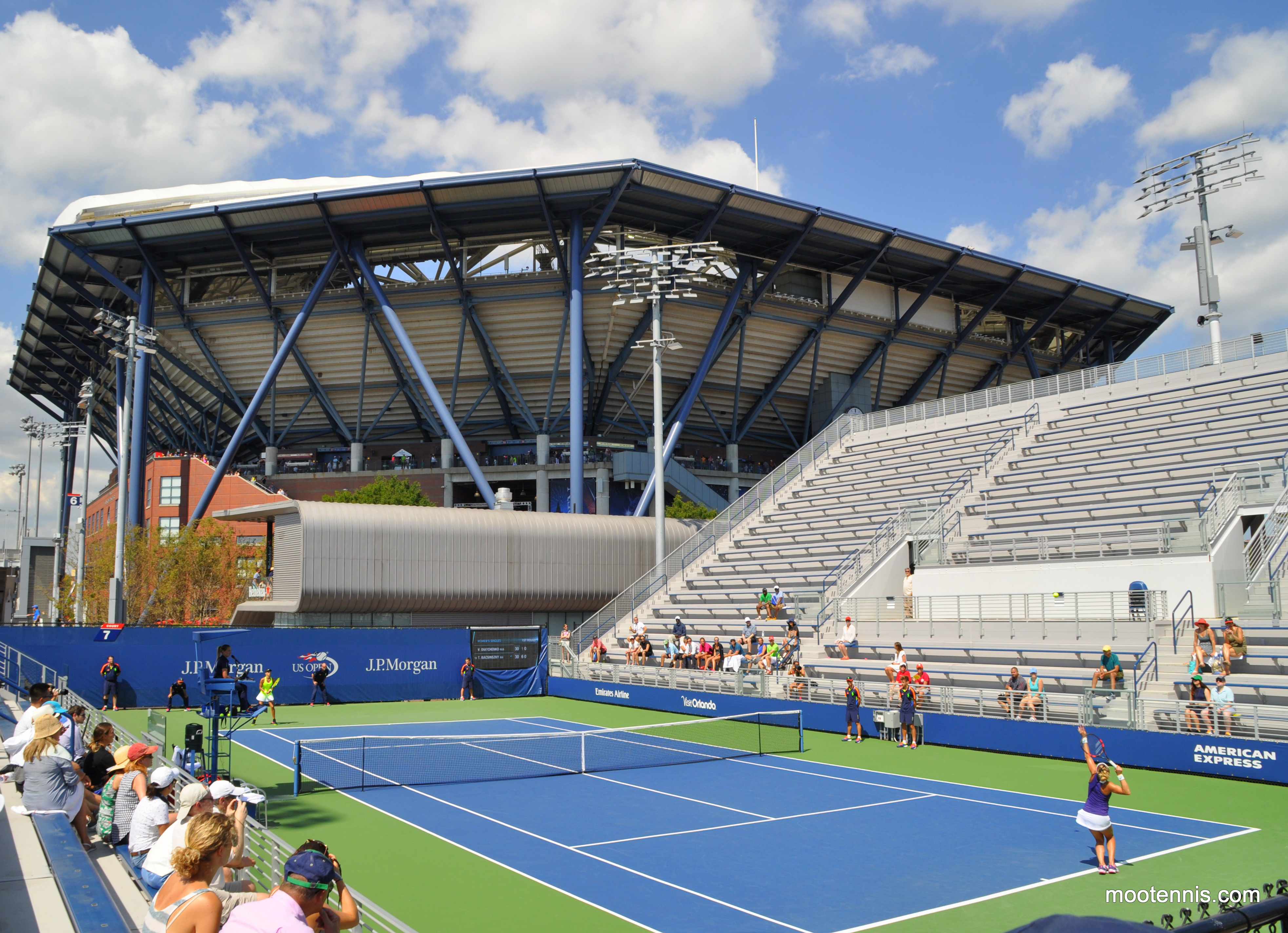 US Open Opening Day Preview Part Of The Good The Locate - Us open grounds map 2016