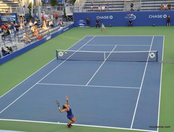 US Open Strycova Niculescu