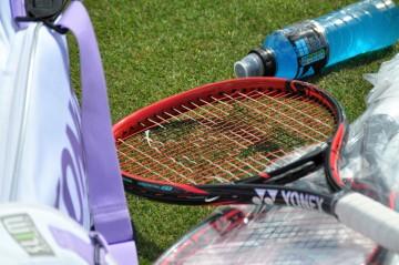 Kerber racquet