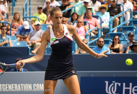Image result for Karolina Pliskova beats Coco Vandeweghe to Claim 10th WTA title