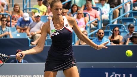 Image result for Karolina Pliskova beats Coco Vandeweghe to Claim 10th WTA title