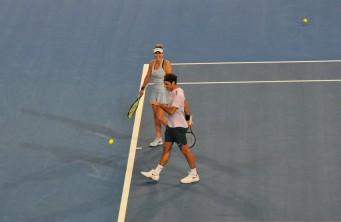 Bencic and Federer