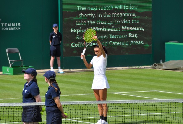 Monday S Set Points Birmingham 2019 Hsieh D Sabalenka Swiatek Saves Mps To Reach Main Draw Moo S Tennis Blog